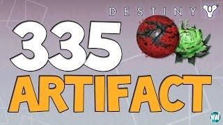 Destiny How to Get a 335 Artifact!