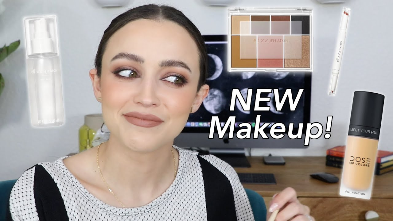 HITS AND MISSES - Get ready with me! NEW MAKEUP!!!