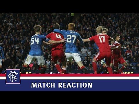 REACTION | David Bates | Rangers 1-2 Aberdeen