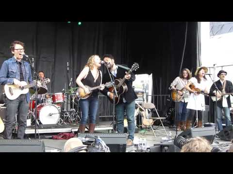Amy Helm & The Handsome Strangers - Long Black Vail 6-8-13 Mountain Jam, Hunter Mt, NY