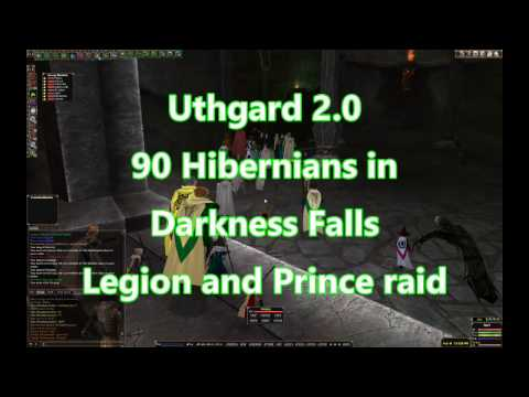 Uthgard 2.0: Darkness Falls raid with 90 Hibernians for Legion, worm and Princes