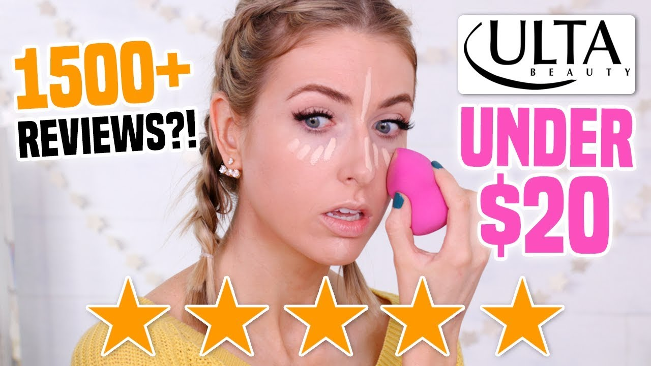 Full Face Testing 5 STAR 100+ Reviews Makeup UNDER $20 from ULTA || Full  Day Wear Test