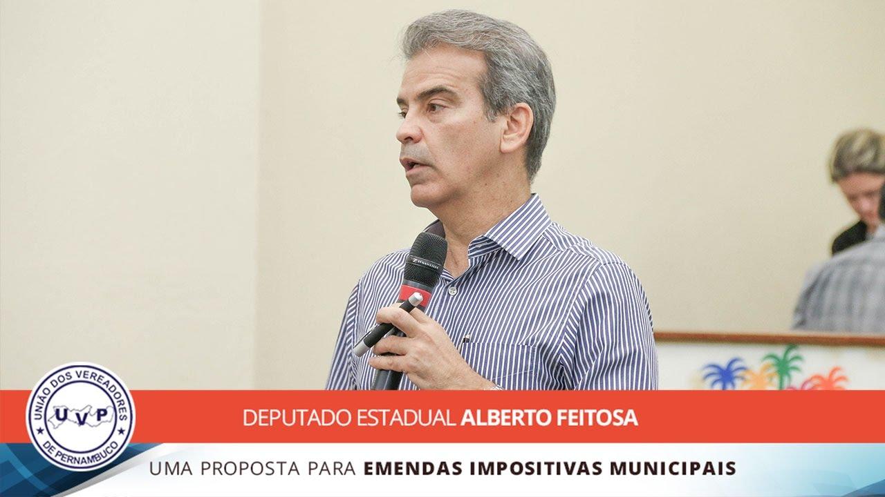 Palestra - Deputado Estadual Alberto Feitosa - Uma Proposta para Emendas Impositivas Municipais