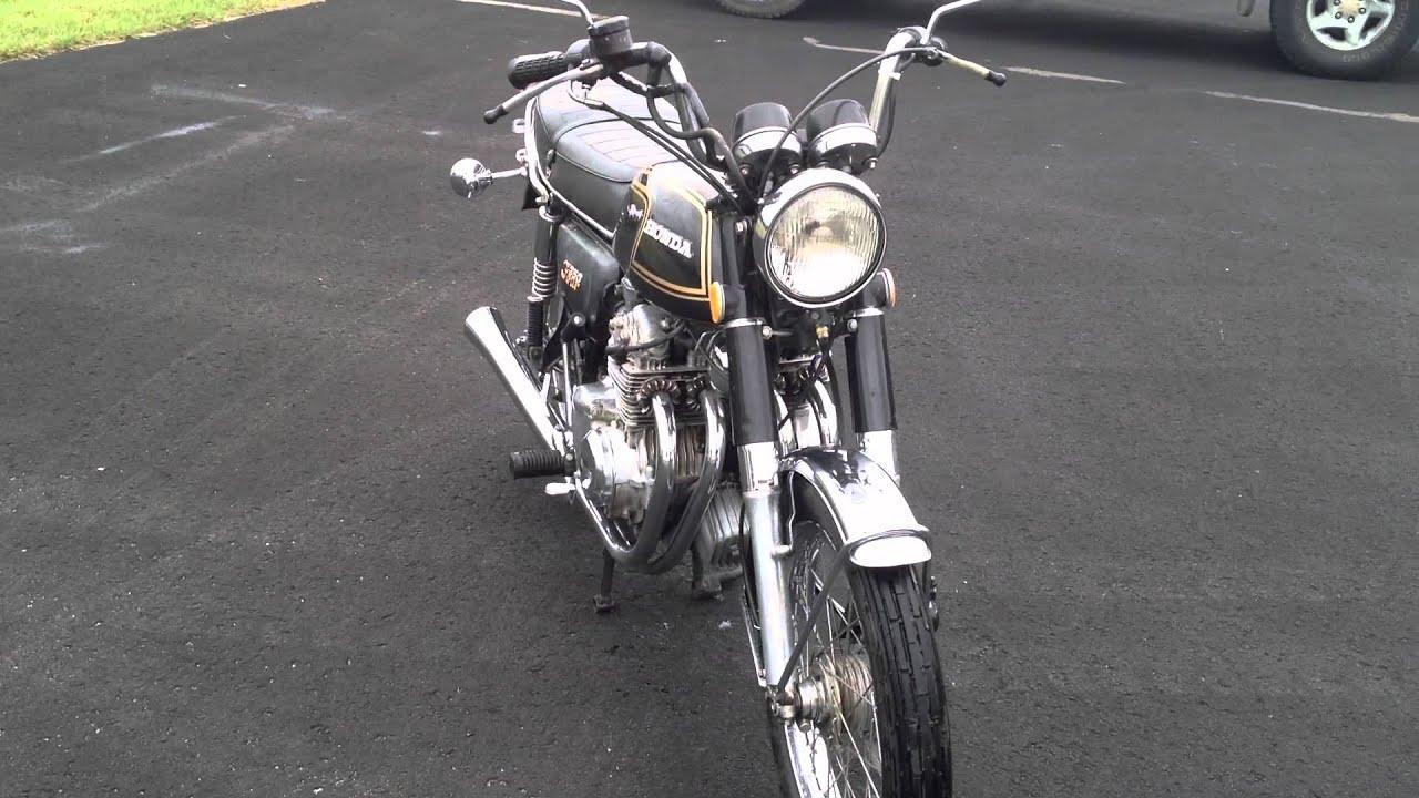 Vintage 1974 Honda Cb350f Cb350 Four Cylinder Youtube