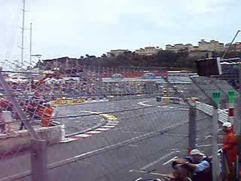 F1 Monaco 2008 Crash