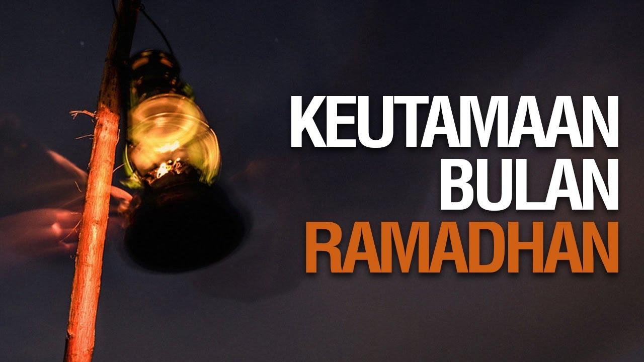 Ceramah Singkat Keutamaan Bulan Ramadhan Ustadz Khairullah Anwar