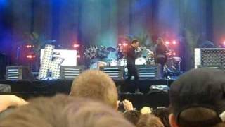 The Killers - Bling (Confessions of a King) extended version - Rock Werchter 03-07-2009.