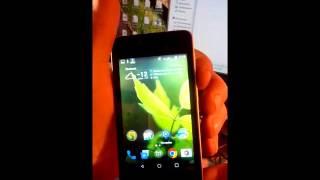 Сделать скриншот (screenshot) на смартфоне ZTE Blade AF3