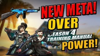 "Season 4 ""NEW META"" ONE HIT! (Rules of Survival: Battle royale)"
