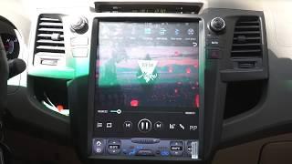 Màn hình DVD Android Tesla Fortuner Chính Hãng Tại BCar Auto