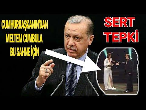 Cuhurbaşkanı Erdoğan'dan Meltem Cumbul'a Sert Tepki, işte ayrıntılar