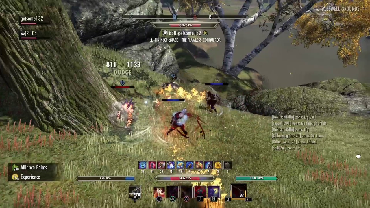 ESO Morrowind Melee Magicka Nightblade Overwhelming PvP by Justin Williams