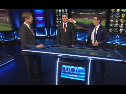 Jamie Carragher's passionate analysis of Arsenal