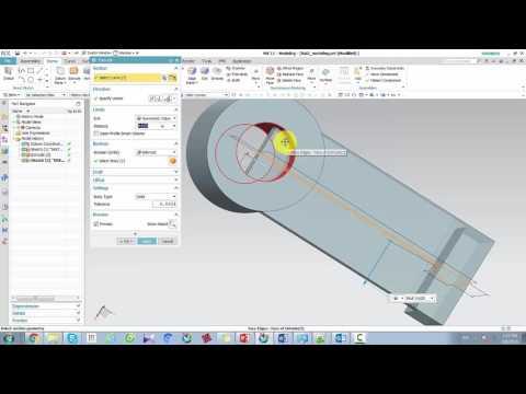 Tư học NX: NX11 solid modeling bai 2