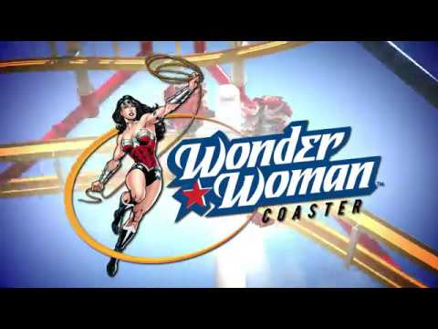 ¡WONDER WOMAN COASTER LLEGA A SIX FLAGS MÉXICO EN 2018!