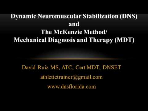 Dynamic Neuromuscular Stabilization (DNS) and Mechanical Diagnosis and Therapy (MDT)