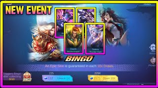 NEW EVENT| Free Skins (BINGO) in MOBILE LEGENDS