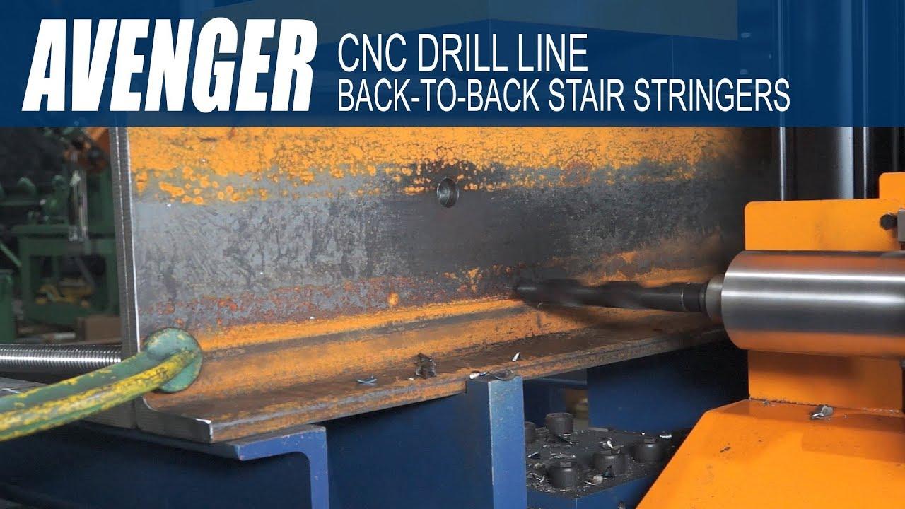 Ocean Avenger CNC Beam Drill Line