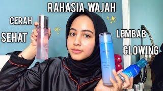 NIGHT SKINCARE ROUTINE+PRAKTEK| RAHASIA WAJAH GLOWING DAN SEHAT✨💆♀️