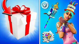 FREE RECOMPENSES FOR ALL WORLD. 🎁 2nd anniversary of Fortnite 🎉