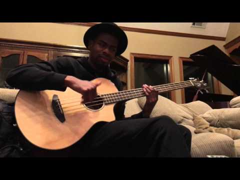 (4K) Breedlove Acoustic Bass Shredded to pieces by Christian Underwood (original Song)