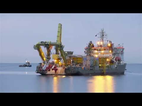 Blyth offshore demonstrator wind farm | cable shore landing