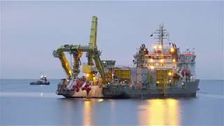 Blyth offshore demonstrator wind farm | cable shore landing
