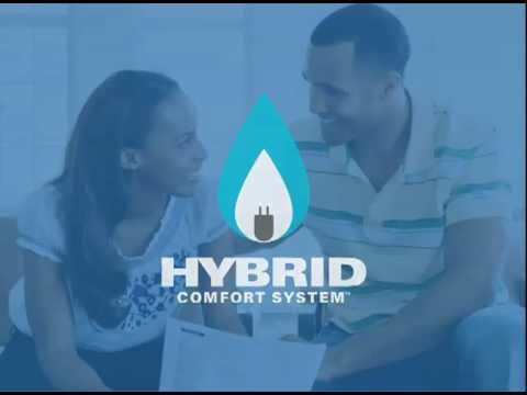 York® Home Comfort - York® Hybrid Systems Use Heat Pumps And Gas Furnaces