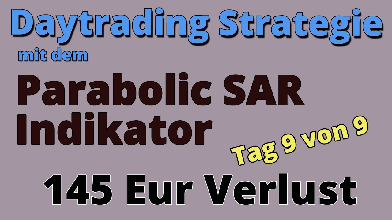 Parabolic Sar Strategie