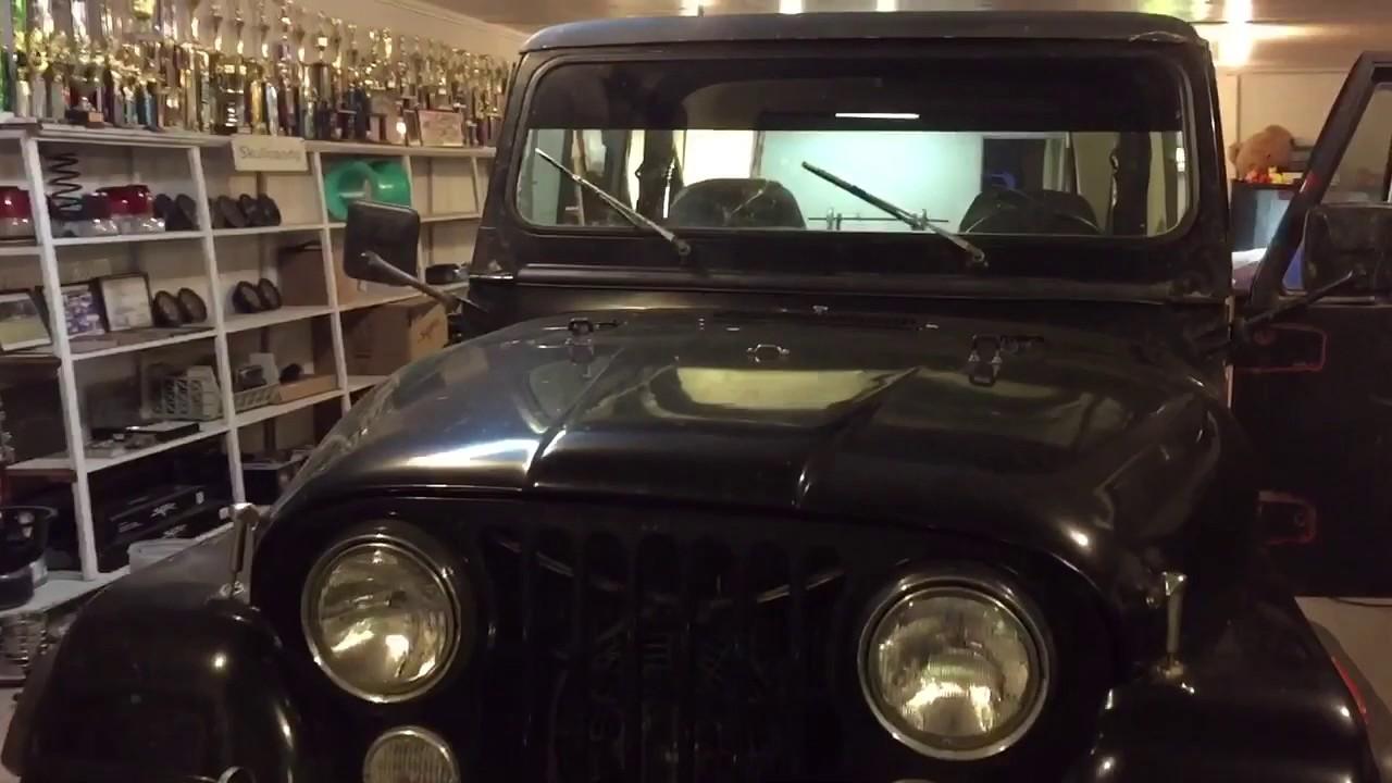 skar audio jeep cj7 install [ 1280 x 720 Pixel ]