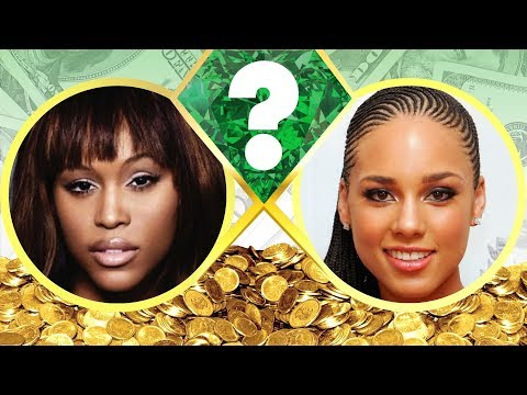WHO'S RICHER? - Eve or Alicia Keys? - Net Worth Revealed! (2017)