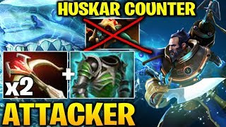 Attacker Kunkka with Double Daedalus - Perfect Huskar Counter