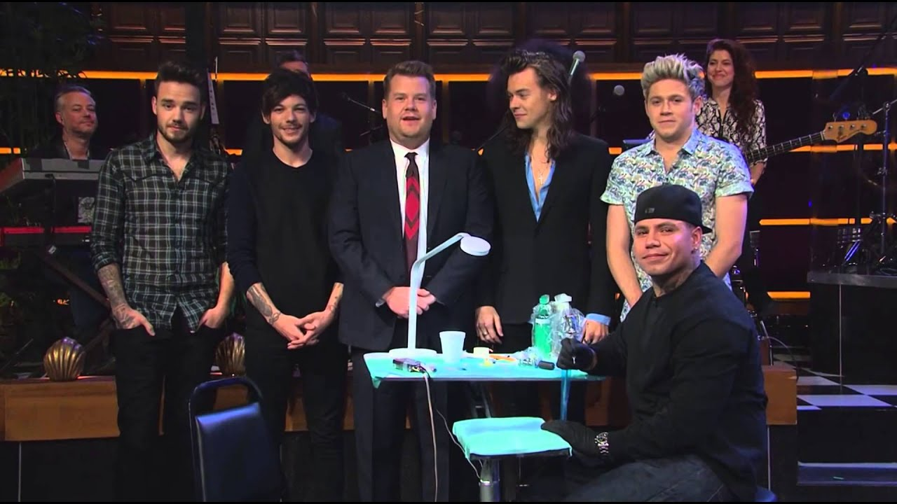 Tattoo Roulette w/ One Direction - video dailymotion