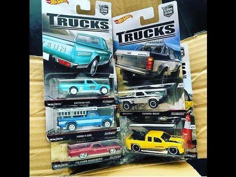 hot wheels car culture trucks 2016 set 5 of 5 exclusive. Black Bedroom Furniture Sets. Home Design Ideas
