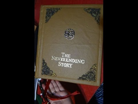 Making The Neverending Story Book- Art for relaxation