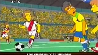 Los Simpsons protagonizan una final de la copa del Mundo - 01/04/14