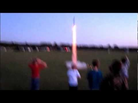 Pack 8 Bear Cub Scout Rocket Night 2012