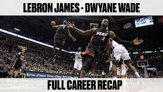 Full Recap of LeBron James and Dwyane Wade's Career As Rivals and Teammates