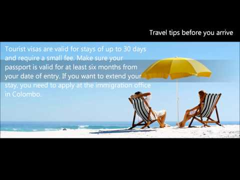 Top Travel tips before you arrive  - Advance Baggage Service