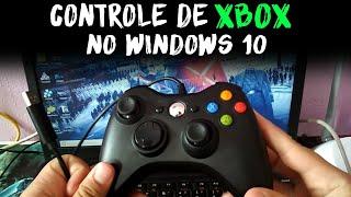 Como usar controle de Xbox no PC