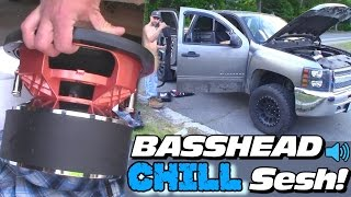 BASSHEAD FUN!!  Jesse TEARS OUT Car Audio Install w/ 15