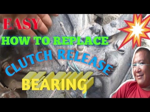 How to Replace Clutch Release Bearing of ISUZU 4BE1