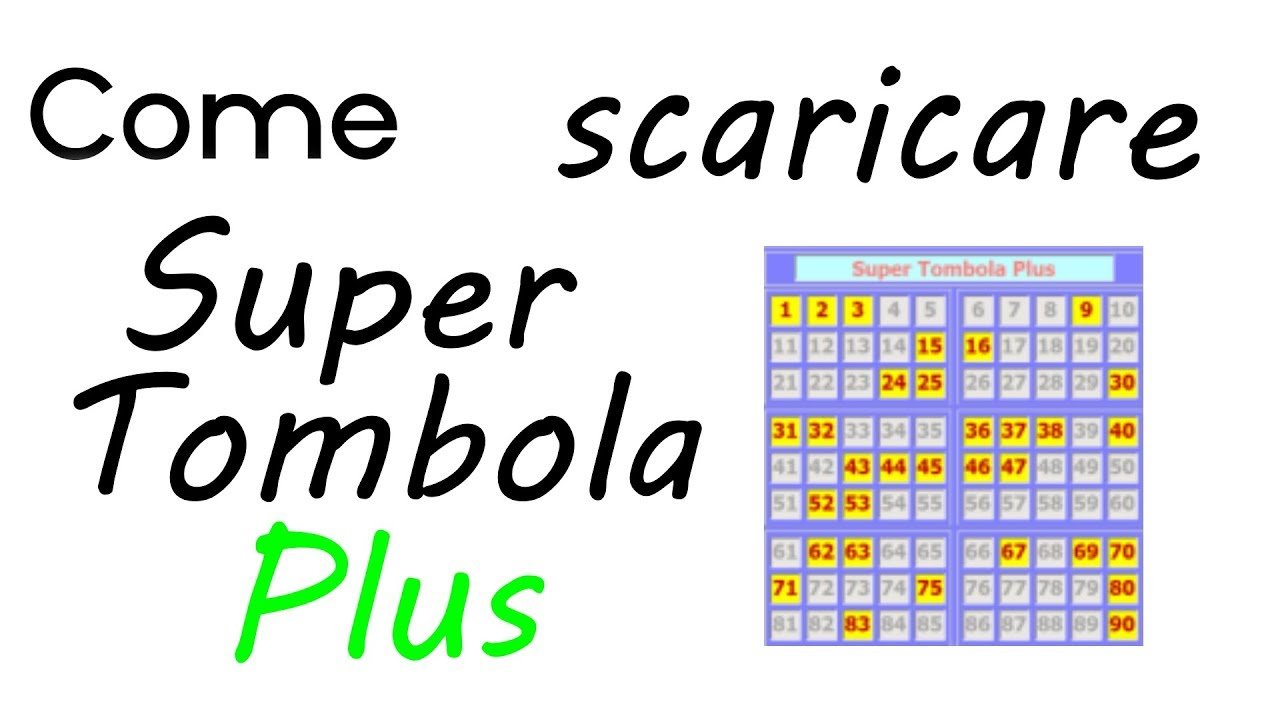 super tombola plus