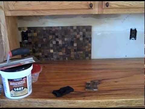 Wood Tile Backsplash YouTube