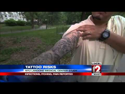 Tattoo Risks Infections Itching Pain Reported Youtube