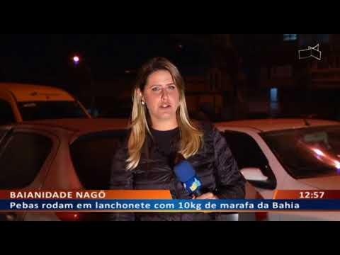 DFA - Pebas rodam em lanchonete com 10kg de marafa da Bahia