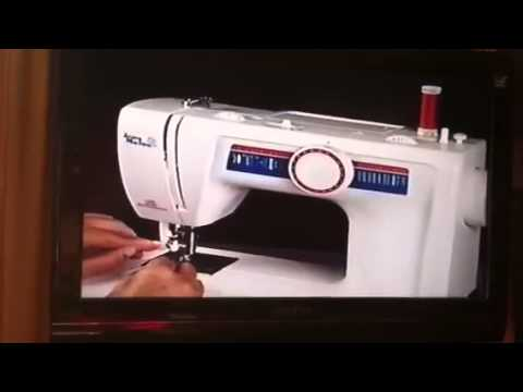 PT 1: White Jeans Machine 4075 ~ How to Thread - YouTube