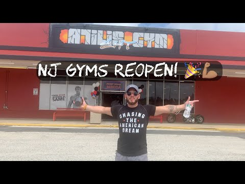 NJ Gyms Reopen! 1st Workout Back At The Mecca!