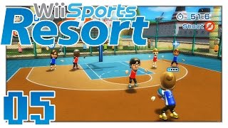 Wii Sports Resort - Nothing But Net! - Part 5 - Basketball