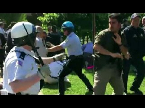 Turkey protests 'aggressive' US action in DC embassy brawl